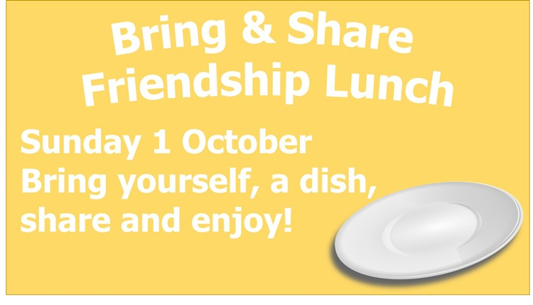 Bring  share friendship lunch