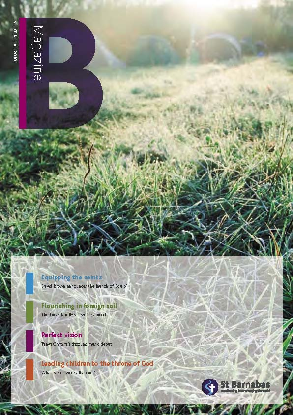 B Magazine Aug 2010 cover