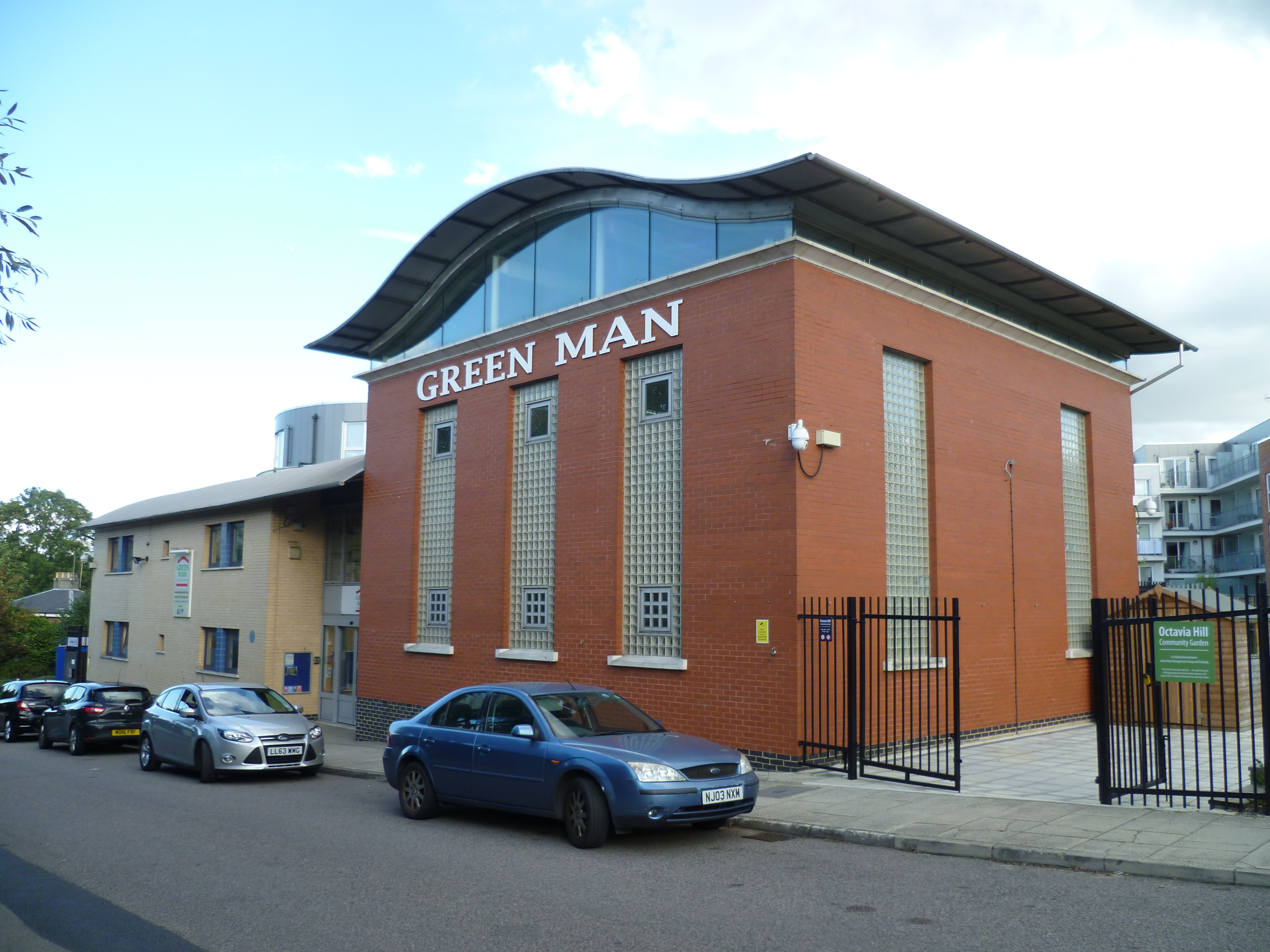 Green Man community centre